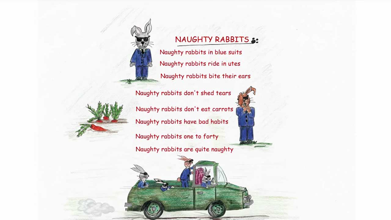 Naughty Rabbits