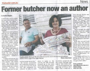 Former butcher now an author